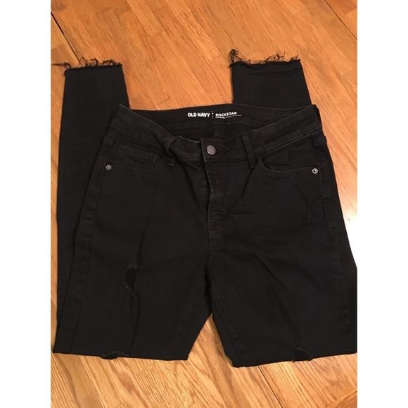 Old Navy Denim - Old Navy rockstar jeans